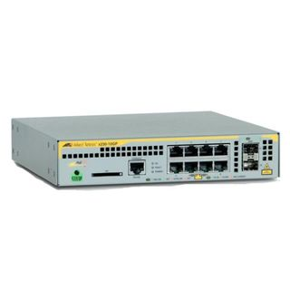 Layer 2+ Poe+ Switch With 8 X 10/100/1000T And 2 X 100X/1000X Sfp Ports (Single Ac Psu)