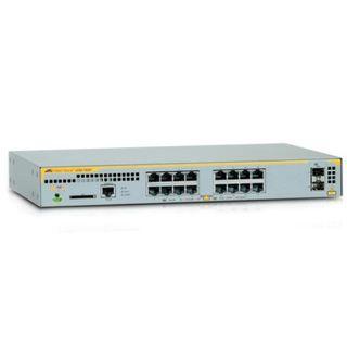 Layer 2+ Poe+ Switch With 16 X 10/100/1000T And 2 X 100X/1000X Sfp Ports (Single Ac Psu)