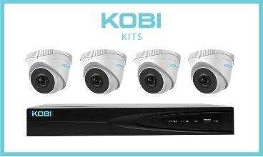 KOBI 8Channel with 2tb, and 4x KOBI-4MT2 turret cameras
