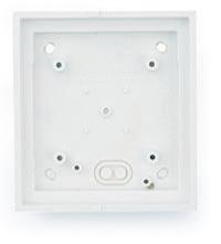 MOBOTIX Single On-Wall-Housing, White