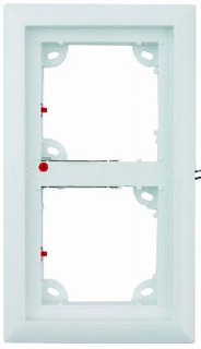 MOBOTIX Double Frame, White