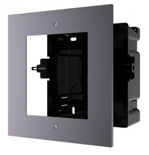 HIKVISION Intercom, GEN 2, Entry Panel Flush Mount Box, 1 Module (ACF1)