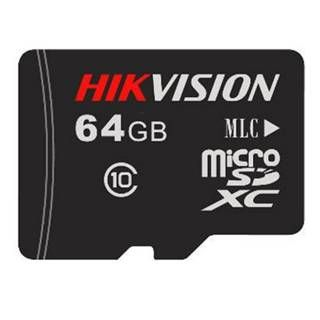 HIKVISION SD Card, 64GB, Class 10 (SD)