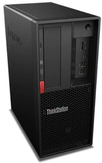 Lenovo 4 Monitor Tower All in One with Intel i7 8-Core Processor, 16GB RAM, 256GB SSD (OS), 16TB Storage (DB), 2GB Nvidia Graphics Card, Ubuntu Linux, 3Yr ProSupport: Next Business Day Onsite
