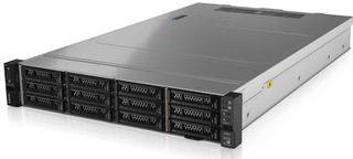 Lenovo 8x Hotswap Bay 2RU Rack Mount Server with Intel Xeon 8-Core Processor, 16GB RAM, 2x 300GB SAS (OS), 6x 4TB NLSAS (ADB), RAID Support, Dual NIC, Windows Server 2019 Standard, 3Yr Next Business Day Warranty
