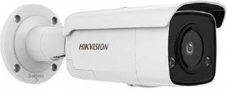 HIKVISION AcuSense Gen 2, Bullet, 4MP, IR, 4mm,built in Mic, strobe light (2T46)