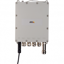 AXIS Outdoor 4-port managed PoE switch for surveillance applications