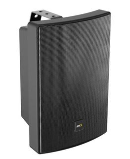AXIS C1004-E Network Cabinet Speaker (black) is an all-in-one speaker system connected with a single network cable