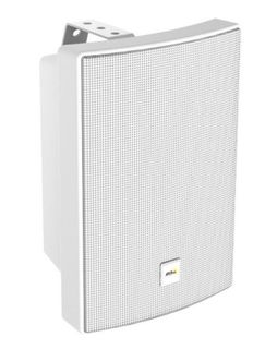 AXIS C1004-E Network Cabinet Speaker (white) is an all-in-one speaker system connected with a single network cable