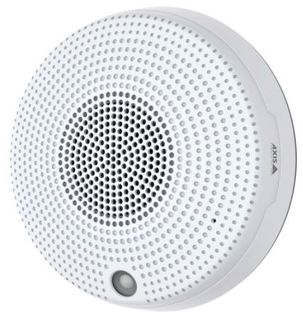 AXIS C1410 Network Mini Speaker is a discrete and affordable speaker that fits into smaller spaces and provides wide-area audio coverage