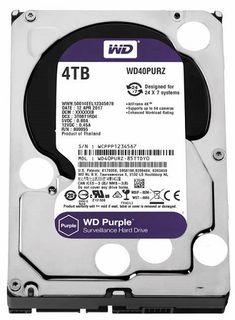 WESTERN DIGITAL WD40PURZ Purple 4TB HDD