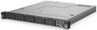 Lenovo 4x Internal Bay 1RU Rack Mount Server with Xeon 4-Core Processor, 16GB RAM, 240G SSD (OS), 4x 8TB SATA (DB), Single Power Supply, Dual NIC, 3Yr Next Business Day Onsite