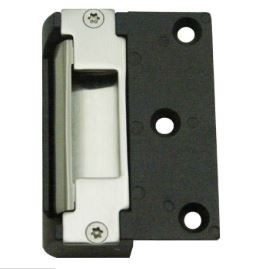 GK350 12VDC Surface Mount Electric Door Strike, Failsafe/Secure Field Changeable, Stainless Steel