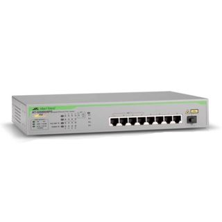 8-Port 10/100/1000T Unmanaged Switch, With Poe+ And Sfp Uplink