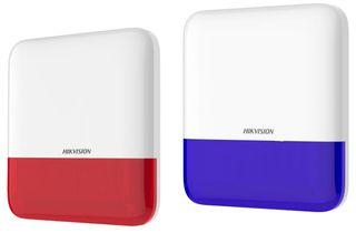 HIKVISION AX PRO  Series Wireless Outdoor Siren with Blue Strobe. 433MHz