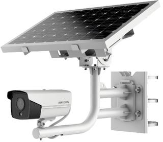 HIKVISION Solar 4G CameraSystem, Solar panel, Battery included
