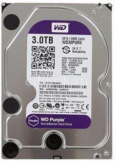 WESTERN DIGITAL WD30PURZ Purple 3TB HDD