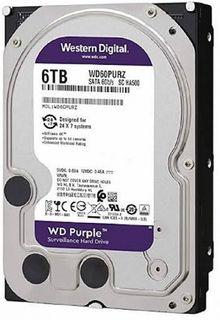 WESTERN DIGITAL WD60PURZ Purple 6TB HDD
