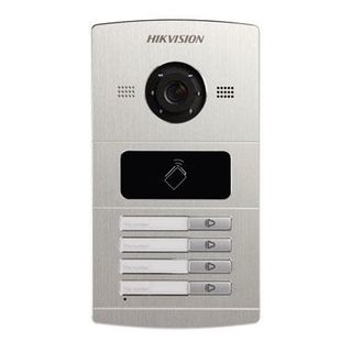 HIKVISION Intercom, Entry Panel- 4 Button (8402)