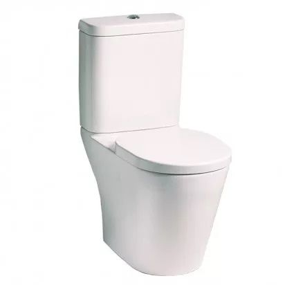 TONIC C/COUPLED WC SUITE SOFT CLOSE SEAT