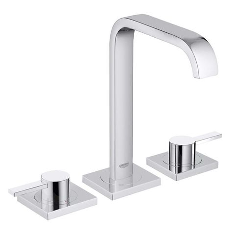 ALLURE 3TH BASIN MIXER CHROME