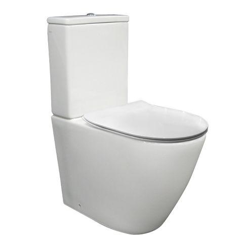ELLISSE O/H BTW TOILET SUITE S/C SEAT
