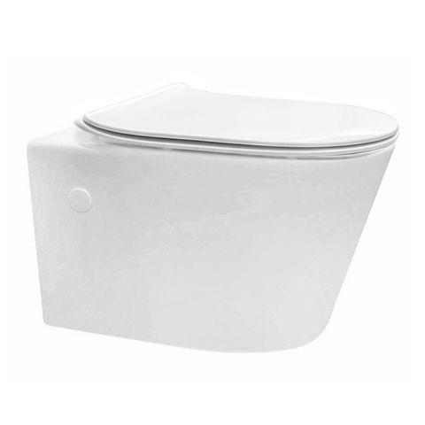 LINFA WALL HUNG PAN SOFT CLOSE SEAT