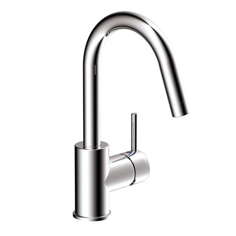 LAVARE GOOSE NECK LAUNDRY MIXER CHROME