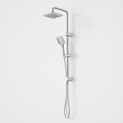 COOLIBAH CONTEMPORARY SHOWER SYSTEM OVERHEAD &SHOWER ON RAIL