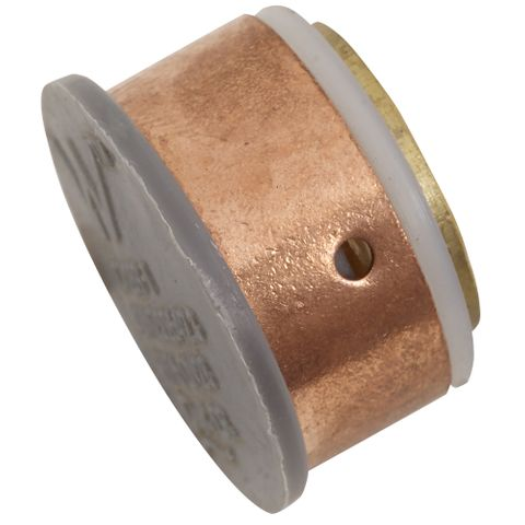 SECURA BLANK PLUG BRASS 28MM